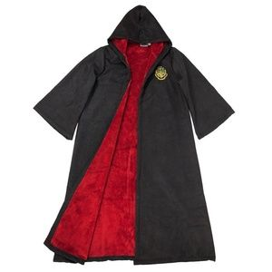 Harry Potter Hogwarts Robe, Faux Suede & Fur, NEW